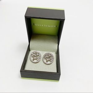 Ross-Simons Sterling Silver Tree of Life Earrings